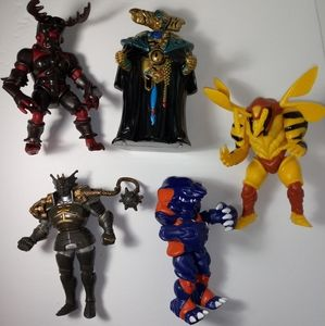 Mighty Morphin Power Rangers action figure LOT